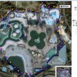 プールの広さランキングの面積算出方法について