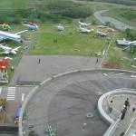 本物のボーイング747機首展示も登場 航空科学博物館(関東千葉県成田空港周辺)