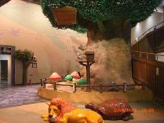 実物大恐竜模型とこどもの城-埼玉県こども動物自然公園(関東埼玉県東松山)