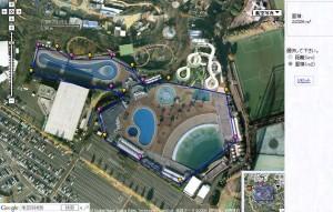 Google Maps API 面積算出