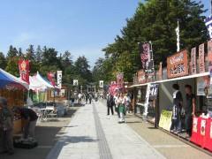 松が岬公園(上杉神社)(山形県・米沢市)