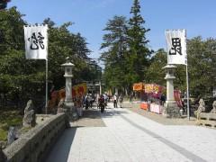 上杉神社-米沢城祉(山形県・米沢市)