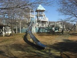 アンデルセンがテーマの風車エリア-ふなばしアンデルセン公園(関東千葉県船橋)