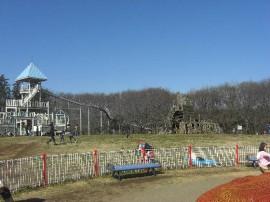 ローラー滑り台・大型遊具が充実のエリア-ふなばしアンデルセン公園(関東千葉県船橋)